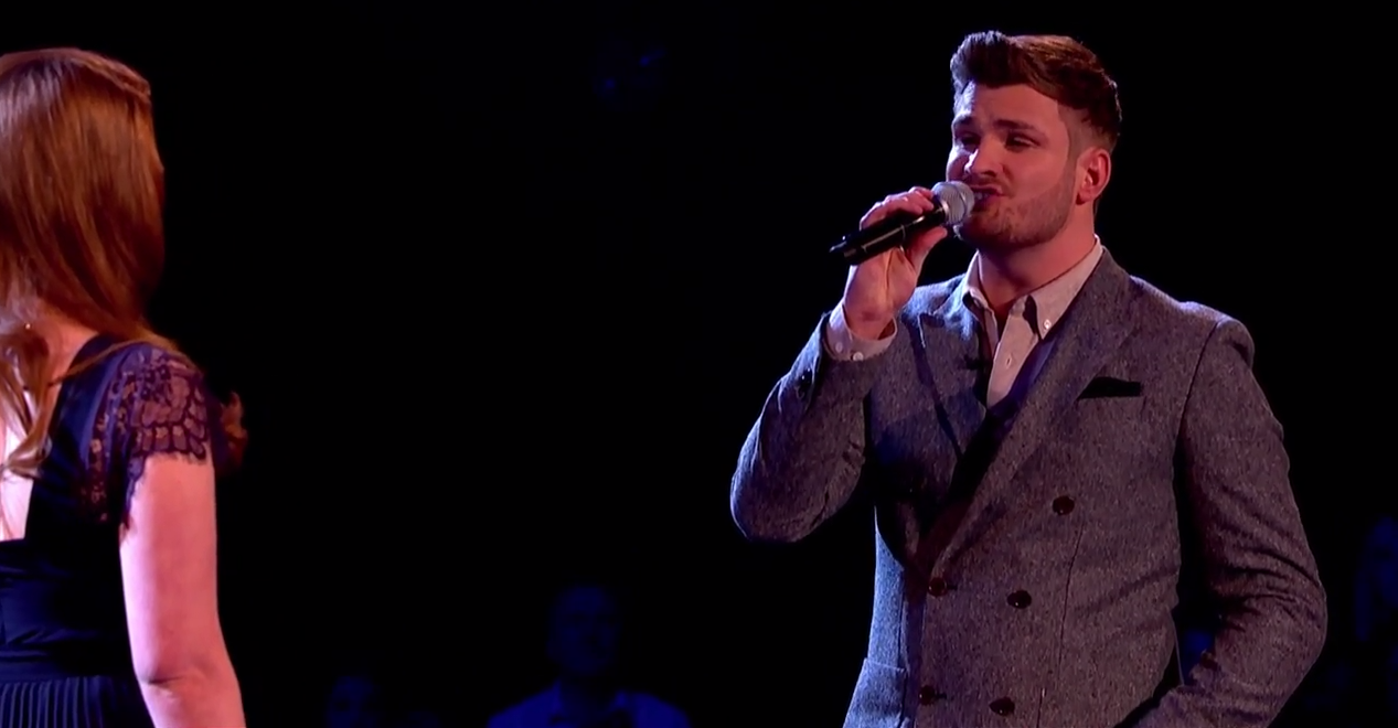 Lucy O'Byrne Vs Karl Loxley - Battle Performance: The Voice UK 2015
