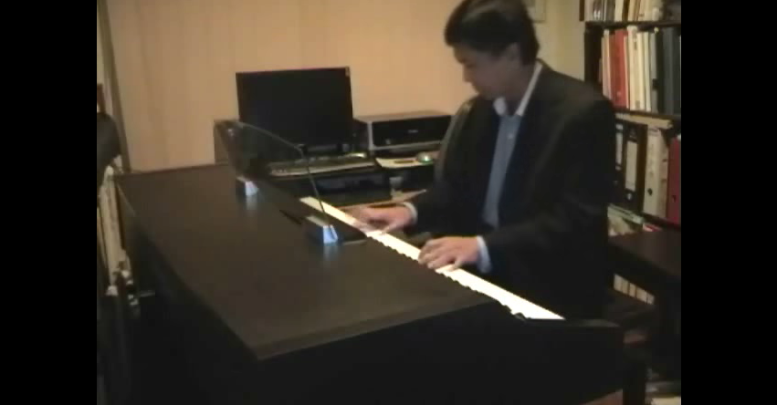 One moment in time Piano Version